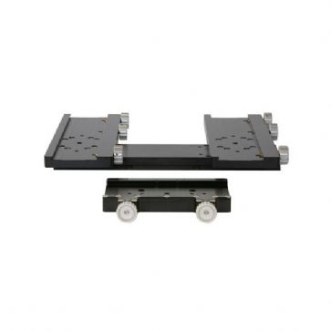 "10Micron 4"" MaxiDual Dual Mounting Plate and Dovetail Clamp"